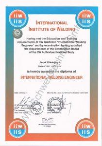 Zertifikat-SFI